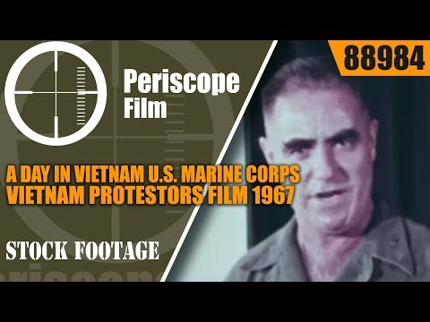 A DAY IN VIETNAM U.S. MARINE CORPS 1967  88984