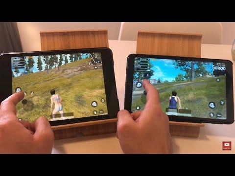 IPad Mini 5 2019 VS Xiaomi Mi Pad 4 SPEEDTEST (PUBG,BROWSING)
