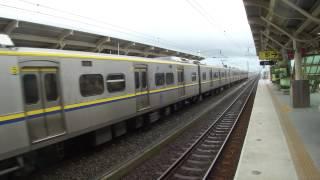 屏東=潮州雙軌電氣化東正線EMU800型電車試營運