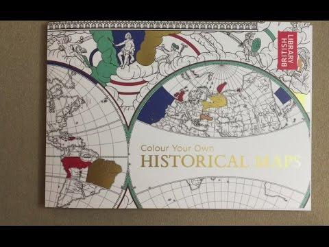 Colour Your Own Historical Maps Flip Through Youtube