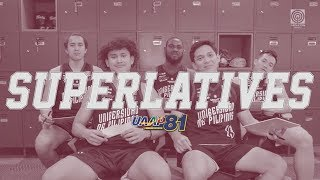 Superlatives Game with the UP Fighting Maroons | UAAP 81 Exclusive