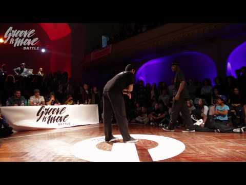 GROOVE'N'MOVE BATTLE 2015 - Popping round of sixteen / Boogito vs Poppin Prince