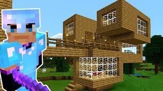- СТРОЮ 3 й ЭТАЖ. Игра Майнкрафт Выживание на русском. Minecraft PE Let s Play. KokaPlay