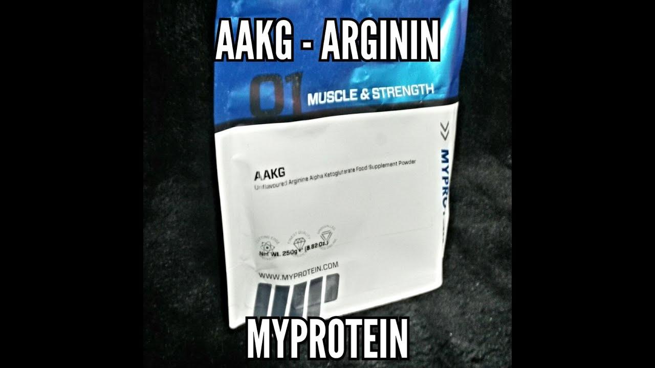 Produktpräsentation Arginin Alpha Ketoglutarat Aakg Von Myprotein