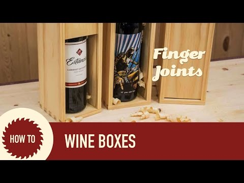 How To Make A Wine Box With The Incra I-Box Jig