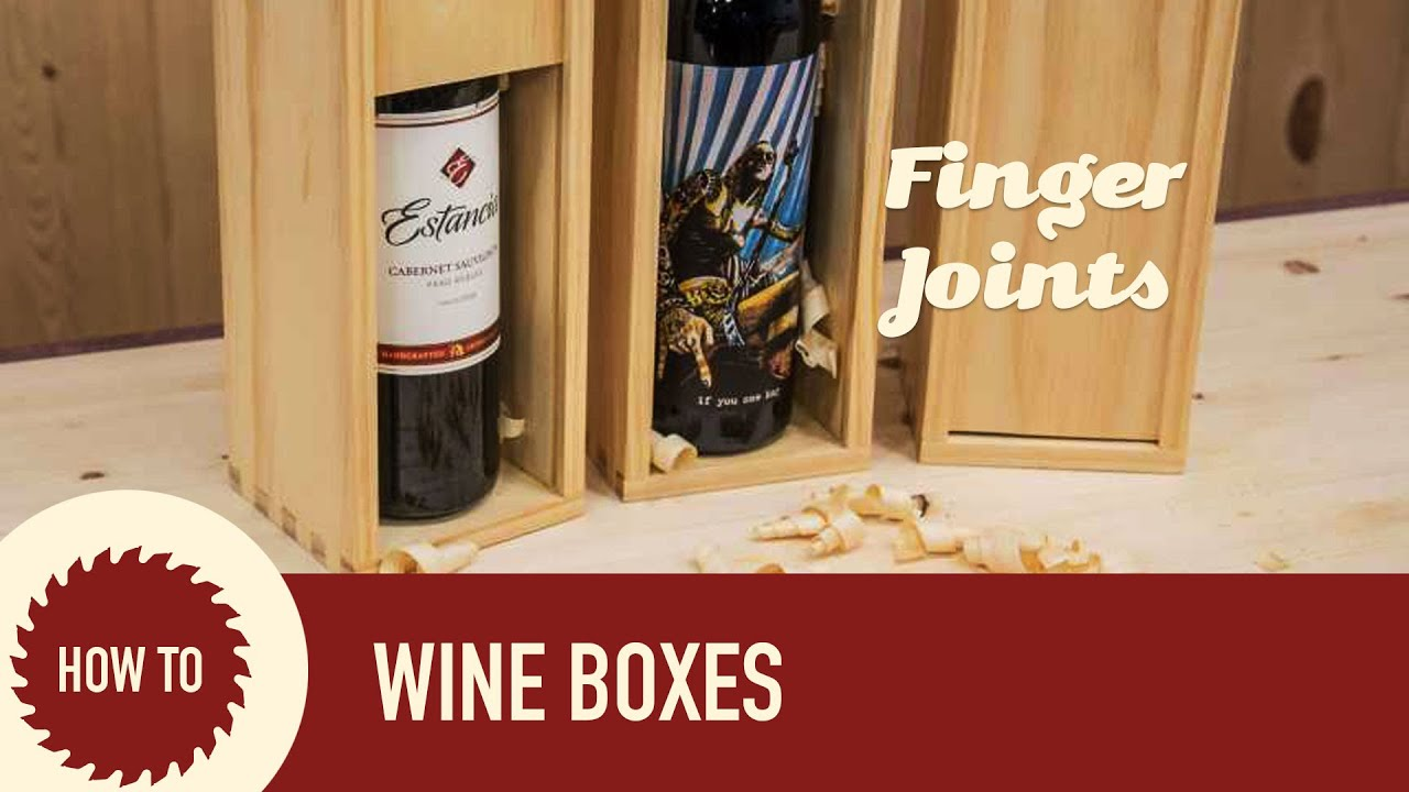 How To Make A Wine Box With The Incra I Box Jig Youtube