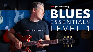 Essential Blues Guitar Lessons [1 of 27] Electric Blues For Intermediates