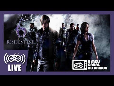 [Live] Resident Evil 6 - Campanha Chris (PS4) - Até Zerar AO VIVO