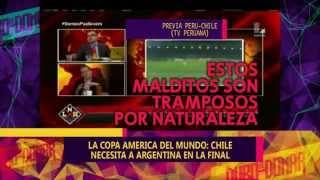 COPA AMERICA: CHILE LE GANO A PERU - 29-06-15