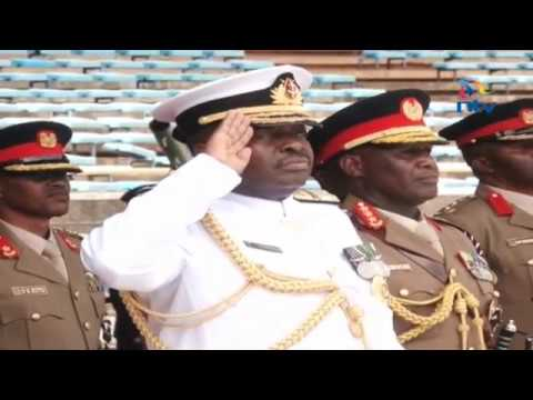 Defense forces conduct dress rehearsal ahead of Uhuru swearing in