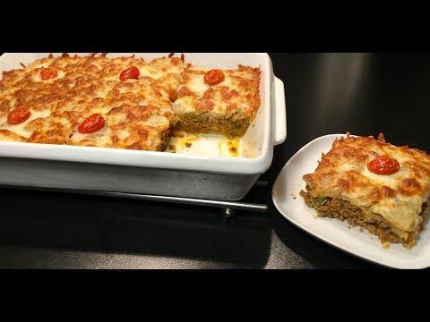 la-lasagne-de-pommes-de-terre-fourrÉe-À-la-viande-hachÉe