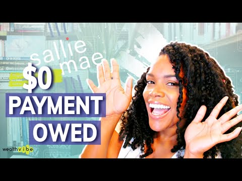 $0 Payment Owed On Student Loans! | My Student Loan Repayment Strategy