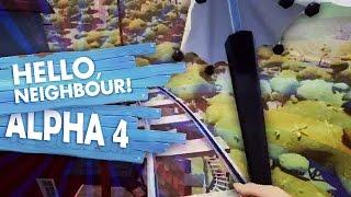 HELLO NEIGHBOR ALPHA 4 GAMEPLAY CLIP!! (Hello Neighbor Secrets!! / Hello Neighbor Alpha 4 Gameplay)