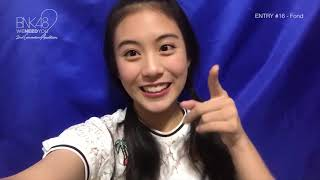 Video BNK48 รุ่น2 | Generation Candidate | Entry #16 | #Fond download MP3, 3GP, MP4, WEBM, AVI, FLV Mei 2018