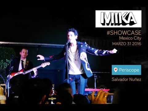 MIKA SHOWCASE Mexico City Marzo 31 2016