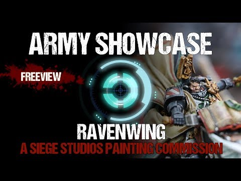 Army Showcase: Studio Ravenwing Commission by Siege Studios
