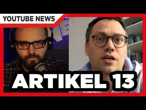 Merkel stimmt für Artikel 13! | Statement Ministerin Barley | Interview mit Tiemo Wölken