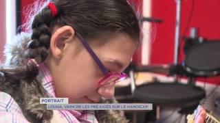 Portrait : le combat de Louna, 10 ans , contre la maladie