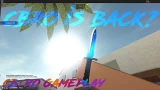 CBRO IS BACK? - Counter Blox Roblox Offensive Gameplay (15-1)