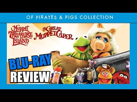 Muppet Treasure Island & The Great Muppet Caper Blu-ray Review - Aficionados Chris