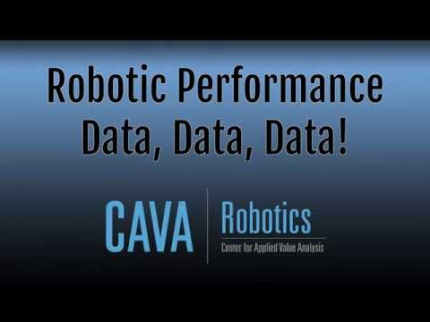 Robotic Performance, Data, Data, Data! by CAVA Robotics