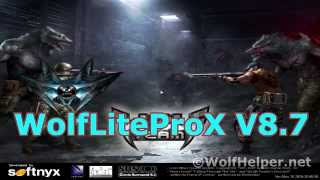 WolfLiteProX V8.7 Trailer