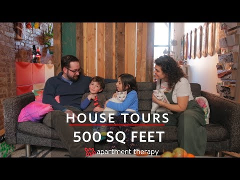 A Family of Four's 500-Square-Foot Apartment | House Tours | Apartment Therapy
