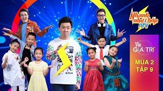 #9 Sao nhí vô tình xem Trấn Thành vô hình (Huỳnh Lập, Thanh Duy Idol)| NHANH NHƯ CHỚP NHÍ - Mùa 2