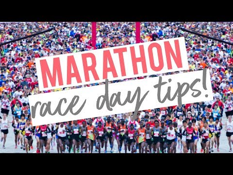 BEST RACE DAY TIPS | How To Prepare & Rock It | Marathon Series Ep 7