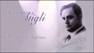Beniamino Gigli - Una furtiva lagrima 1933 / cleaned by Maldoror + subtitle
