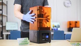 Zortrax Inkspire: Resin UV LCD 3D Printer