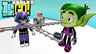 TEEN TITANS GO IN ROBLOX!