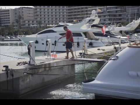 Marina Port de Mallorca. El mejor amarre. The best mooring.
