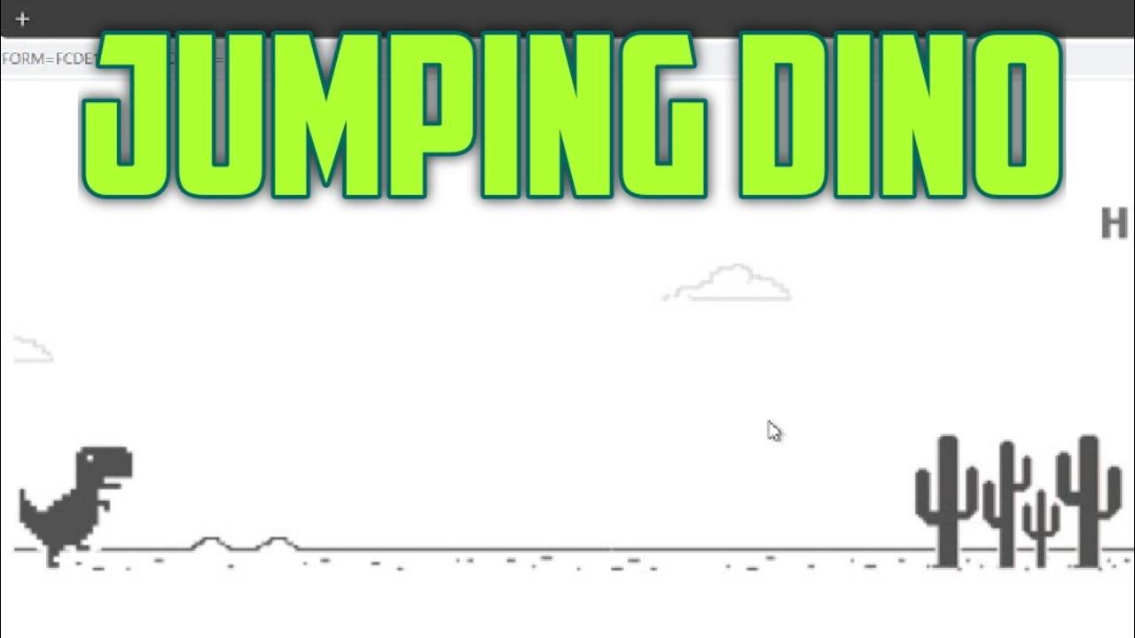 Jumping Dino #032 - YouTube