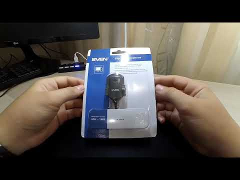 Обзор микрофона SVEN MK-155!