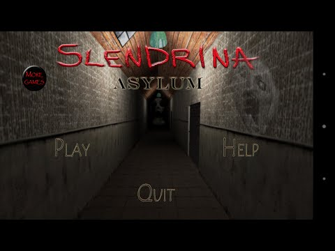 Прохождение Horror Game Slenderina asylum #2 Где ключ!?
