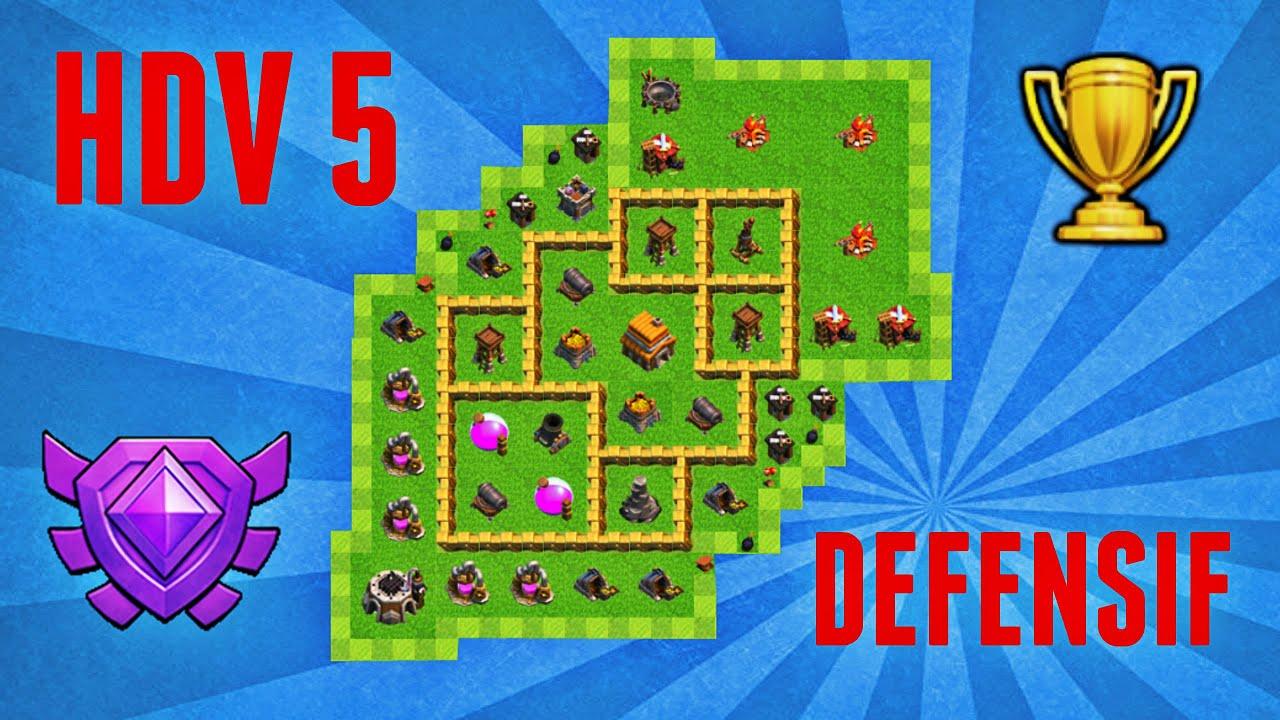 Village hdv 5 defensif