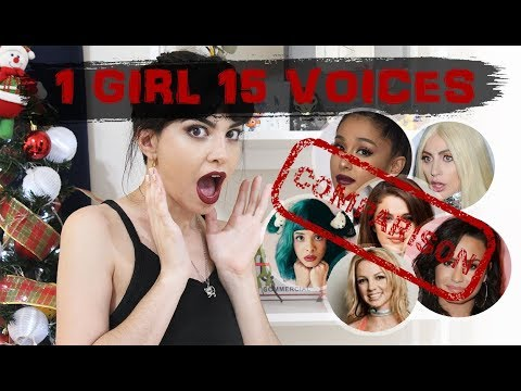 Over a Dozen Voices Inside One Woman's Body!