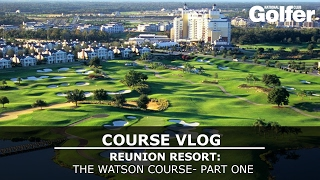Video Course Vlog: Reunion Golf Resort, Watson Course, Orlando: Part One download MP3, 3GP, MP4, WEBM, AVI, FLV Oktober 2017