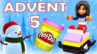 Toy Advent Calendar Day 11 - - Shopkins LEGO Friends Play Doh Minions My Little Pony Disney Princess