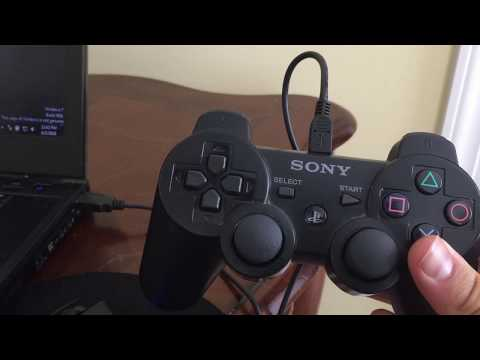 Connect Your PS3 Controller To Your PC 2018 (WORKING)