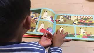 バムとケロのシリーズ絵本が大好きな次男。 好きすぎて何度も読み聞かせ...