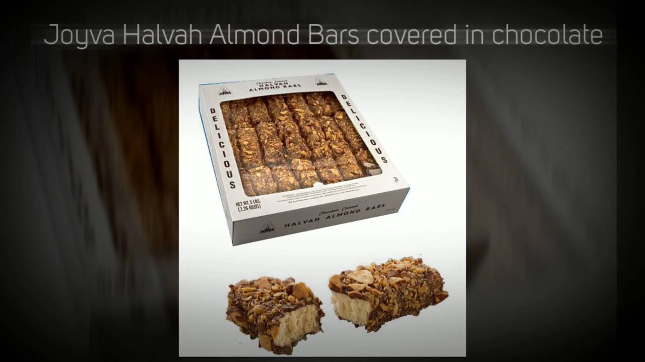 How+To+Make+Joyva+Halvah Joyva Chocolate Covered Halvah Almond Bars 5 ...