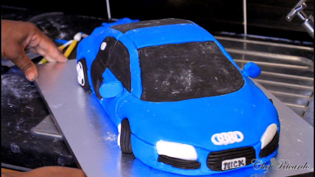 Making A Car Cake 2015 Audi R8 New Making A Car Cake 2015
