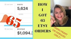 *How I Got 65 Sales Using Etsy™ and Gearbubble™ ONLY?
