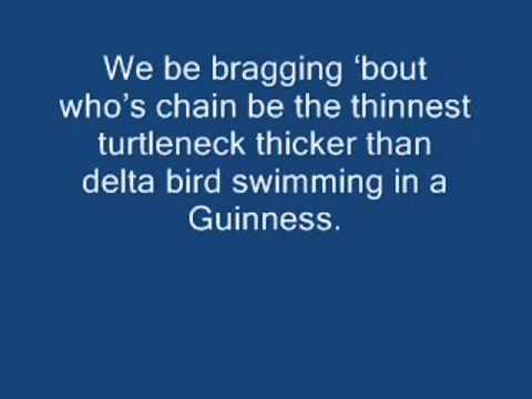 The lonely island Turtleneck & chain(lyrics)