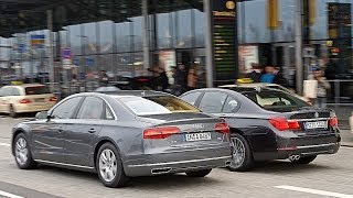BMW 730d vs. Audi A8 3.0 TDI