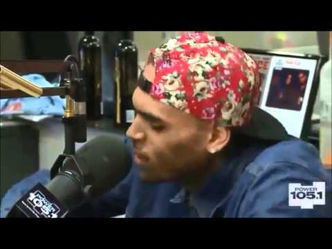 Chris Brown With The Breakfast Club - Power 105.1