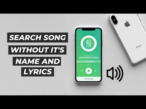 How to search any Song without It's NAME and LYRICS