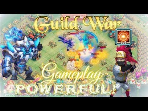 Sasquatch & Scorch 9 Ronin Guild War Smashing - Castle Clash